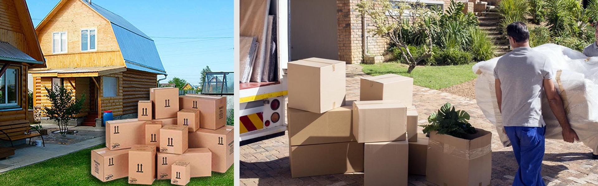 Дачный переезд: перевозка вещей на дачу
