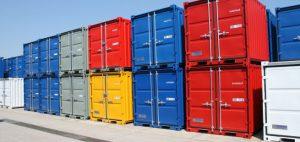 Погрузка и разгрузка контейнеров